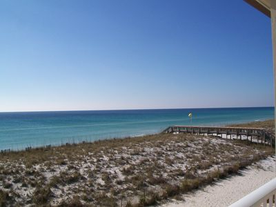 Photo for Beachview 8 Gulf front Beauty..you can't get any closer to the water than this!