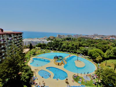 Photo for APARTMENT IN MINERVA. VIEWS TO POOLS AND SEA. BEACH AT 600M. 532.