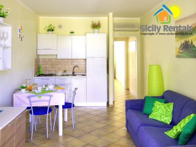 Photo for 1BR Apartment Vacation Rental in Isola delle Femmine