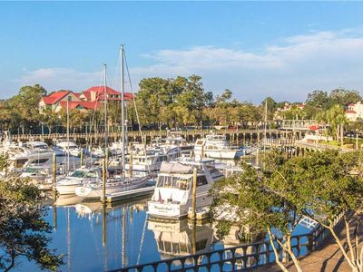Photo for 7138 Harbourside | Marina View from Private Balcony | Complex Pool | Walk to Dining & Shopping