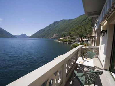Photo for Lake Lugano 1 bedroom apartment