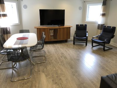 Photo for Executive Independent Cozy Basement Apartment with 2 BR, 2 WR, Kitchen, Sofabed
