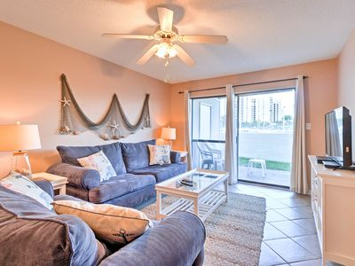 Photo for Condo w/Pool Access & Patio- Steps to Orange Beach
