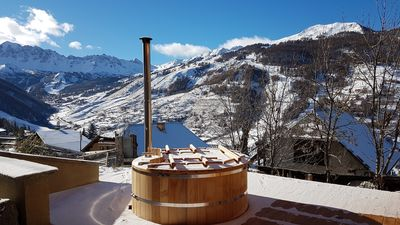 Photo for The escape, an exceptional chalet in front of the slopes