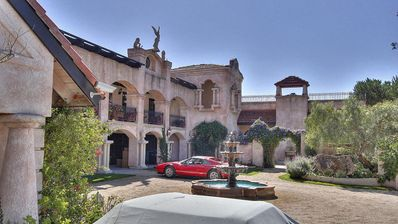 Photo for Chateau Reminiscent of European Estate Overlooking All of Carmel Valley & Ocean