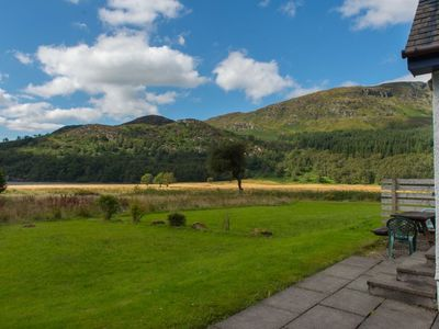 Photo for 4 star, 4 bedroom, 3 bathroom Scottish cottage with stunning loch and mountain views