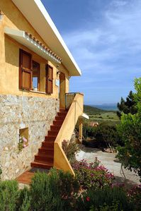 Photo for Apartment with stunning views over the bay of Posada