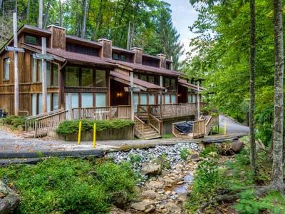 Photo for Creekside Family-Friendly Townhome Near Ober Gatlinburg w/ Gas Grill & Free WiFi