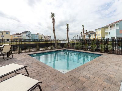 Photo for Luxurious, Margaritaville Cottage with private pool! Tiki Bar on-site. Shuttle Service to Disney!