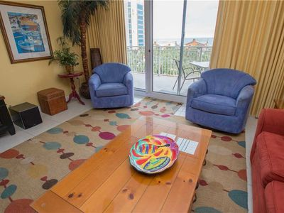 "Photo for Colorful & Bright 4th Floor Shores Unit 409 Some ""Boca"" Flare & Spacious Balcony"
