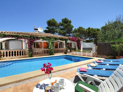 Photo for Casa Odile is a Perfect holiday villa for family vacations for rent in Cala Sant Vicente