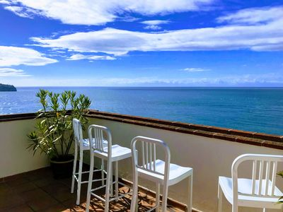 Photo for Beautiful terraced house comfortable with spectacular sea views WIFI and pool