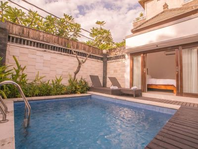 Photo for Close to Seminyak center, 2 Bedrooms Villa with Private Pool