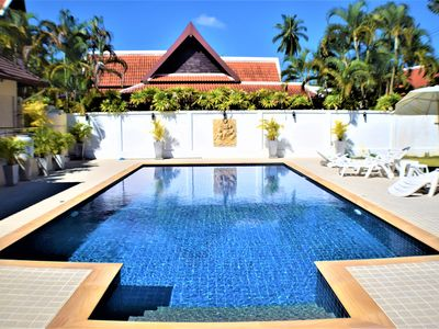 Photo for Amazing Luxury 5 Bed Villa with Private Pool and lovely tropical garden