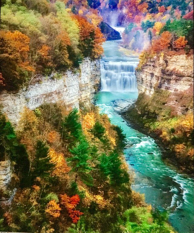 Fall getaway at a lakefront paradise just vrbo - Letchworth state park swimming pool ...