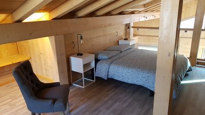 Photo for Chalet in Chamonix - Renovated old carpentry 10 minutes walk from the center
