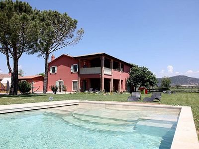 Photo for Villa Giaggiolo D: A characteristic and welcoming apartment surrounded by the greenery, with Free WI-FI.