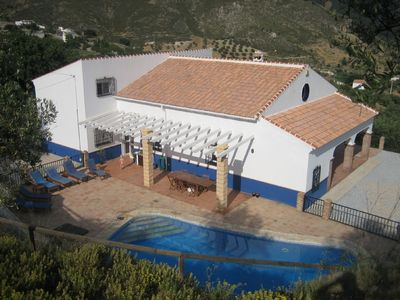 Photo for Beautiful spacious villa with fantastic views and private pool