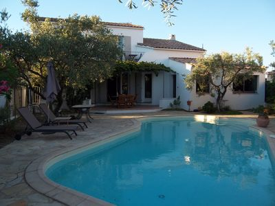 Photo for Charming cottage 8 km Montpellier, 20 km from the beaches, swimming pool, jacuzzi optional