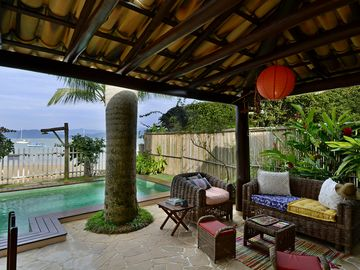 Beach front house with high standard and hotel service
