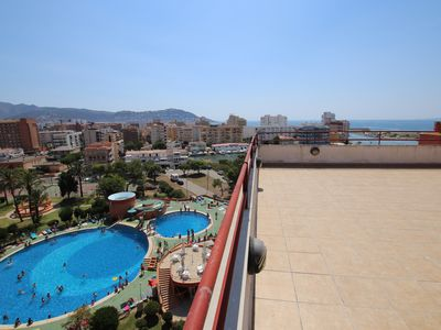 Photo for Big apartment with big terrace and sea views