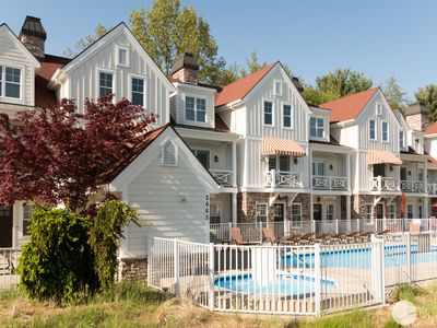 "Photo for The Chesapeake: 3 BR Condo at ""The Beach House"" w/ Heated Pool (Sleeps 10)"