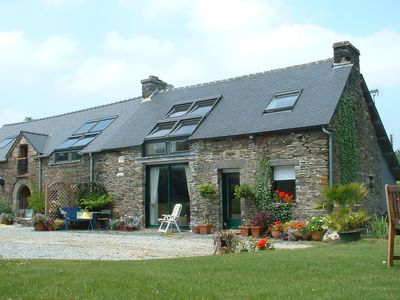 Photo for Our beautiful holiday cottage in the centre of Brittany,