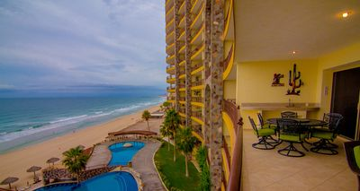 Photo for OCEAN FRONT 2BEDROOM CONDOMINIUM AT SANDY BEACH, SONORAN SKY