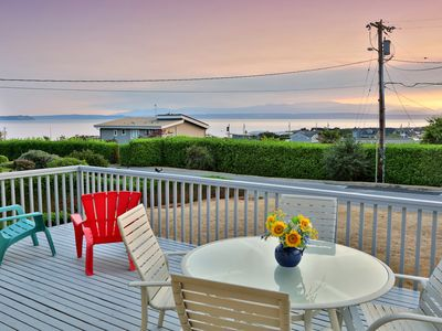 Photo for NEW LISTING! Family-friendly home with beach access & water view!
