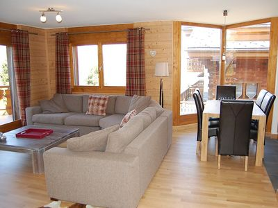 Photo for Apartment in the center of Nendaz with Internet, Lift, Parking, Balcony (42581)
