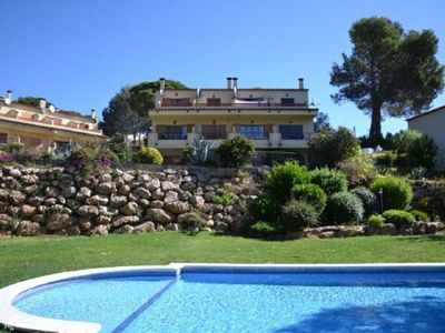 Photo for SEMI-DETACHED HOUSE WITH COMMUNITY POOL AND GARDEN AT 4 KMS FROM THE BEACH OF ESTARTIT WIFI FREE