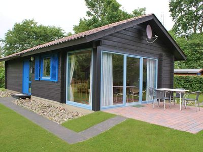 Photo for Modern log cabin near the beach - log cabin ideal for up to 4 people- with fireplace - close to the beach