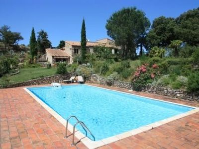 Photo for Grand F2 Plein Sud quiet environment 5km from CERET 66400 Elevation 450 M.