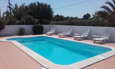 Photo for Beautiful detached 3 bedroom villa with private south facing swimming pool