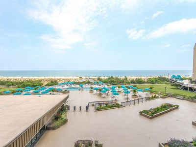 Photo for 301S: 2BR Sea Colony oceanfront condo | Private beach, pools, tennis, kids activities ...