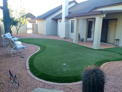 Photo for Ahwatukee Home with  Putting Green & South Mountain Views