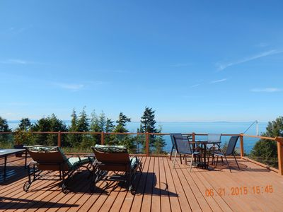 Photo for TINY HOUSE WITH GIANT VIEW, AWESOME DECK AND GAS FIRE PIT