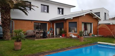 Photo for Modern house anglet quiet with heated pool