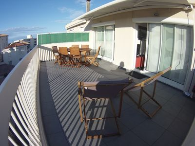 Photo for A Palavas, Beautiful apartment of 60 m2, sea view, 4 star