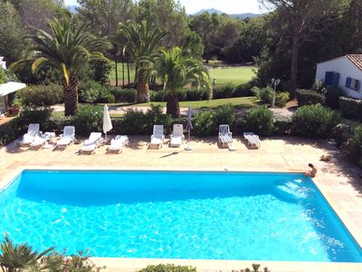 Photo for Duplex CONDITIONING, Esterel view, quiet and flowers near a golf