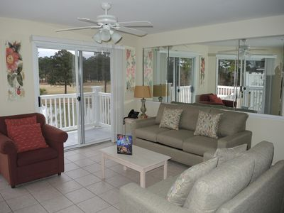 Photo for Full Kitchen, 2 Bedrooms, 2 Bathrooms, Brunswick Plantation Golf Resort, Close to Beach in Calabash, NC(2607)