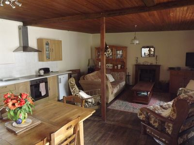 Photo for Riverside Cottage in saint nicolas des eaux