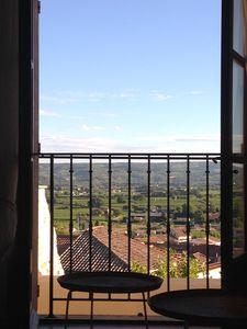 Waken up to this view from master bedroom.