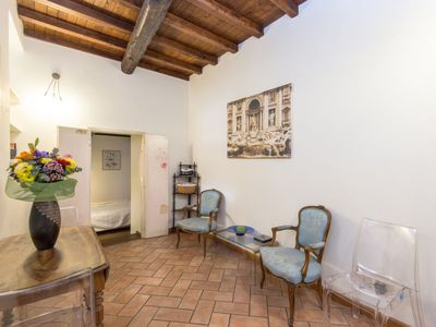 Photo for Apartment Trastevere  in Rome: Historical City Center, Lazio - 4 persons, 2 bedrooms