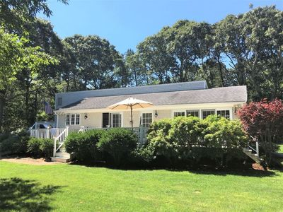 Photo for NEW for 2019! Secluded Edgartown 3-bedroom near Conservation Land, Town, & Beach
