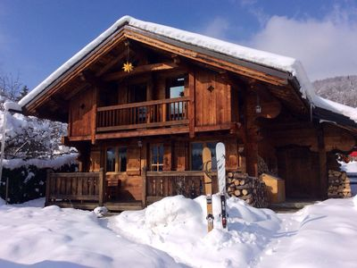 Photo for Self catering chalet rated 3* for 6 people located in the Chamonix valley