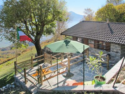 Photo for Vacation home La tana del lupo (GLA415) in Gera Lario - 4 persons, 1 bedrooms