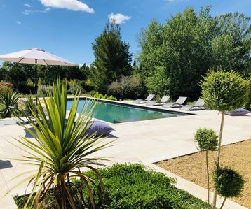 Photo for Beautiful villa-Pearl Rare! Alpilles view, swimming pool, 4'Saint Remy Provence