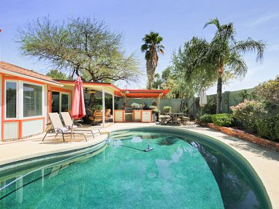 Photo for Remodeled 3BR w/ Private Pool, Outdoor Kitchen - Minutes to Dining & Shops