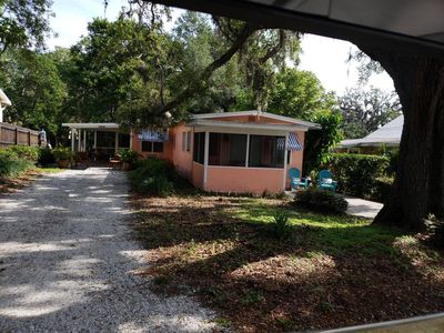 Photo for Coral Cottage #1 Steps from the Gulf, experience Old Florida Laid Back living